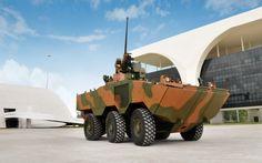 VBTP M-R (veículo blindado de transporte de pessoal médio de rodas) Guarani