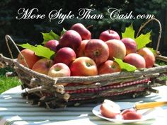 Crafting a Fall Twig Basket