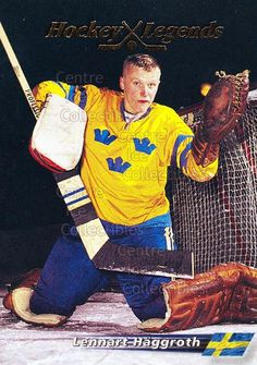Lennart Häggroth (Swedish Ice Hockey Goaltender)