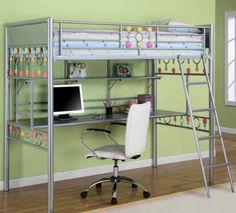 modelos de camas litera con escritorio abajo - Buscar con Google