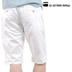 G-STAR RAW (ジースターロー) ショーツ ホワイト WESTERN BRONSON CHINO【送料無料】 sho-gs-042