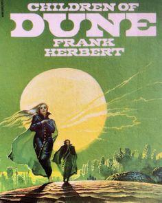 martinlkennedy:  Children of Dune art by Bruce Pennington (1977)