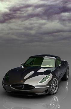 #Jaguar E-Type Retro.