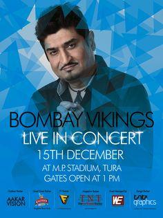 Bombay Vikings Poster design