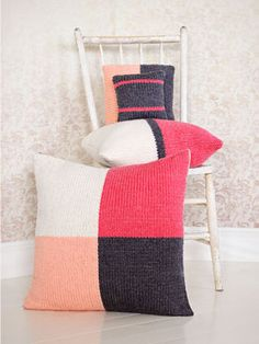 4 Squared Pillows by Spud & Chloë Staff
