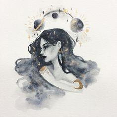 32 Ideas painting art vintage beautiful for 2020 Kunst Inspo, Art Inspo, Fantasy Kunst, Fantasy Art, Anime Kunst, Anime Art, Diy Art, Hipster Vintage, Vintage Art