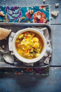 Zupa warzywna - vegetable soup (recipe in Polish)