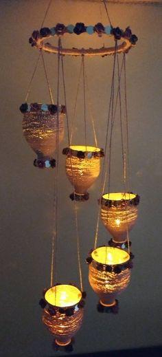 Happy Diwali Easy Diwali Decorations At Home Ideas- Diwali Decor - Make Diwali DIY Arts, Crafts, Paper Bandarwal, Rangoli Designs, and Ideas. Diwali Decoration Items, Diya Decoration Ideas, Diwali Decorations At Home, Bottle Decorations, Diwali Lamps, Diwali Diy, Diwali Craft, Diwali Lantern, Easy Arts And Crafts