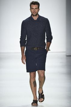 A look from the Todd Snyder Spring 2016 Menswear collection.