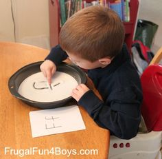 Learning Activities for Four Year Olds - Frugal Fun For Boys