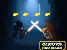 Angry Birds Star Wars (negras y silencio de negra) Grade 1/K  quarter note and rest rhythms :)
