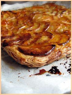 Barefoot Contessa's french apple tart