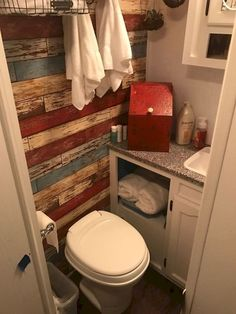 Stunning Fascinating Rv Remodel Ideas For Bathroom On A Budget. remodel on a budget Fascinating Rv Remodel Ideas For Bathroom On A Budget Camper Bathroom, Budget Bathroom, Bathroom Remodeling, Remodel Bathroom, Bathroom Ideas, Bathroom Makeovers, Remodeling Ideas, Camper Kitchen, Restroom Ideas
