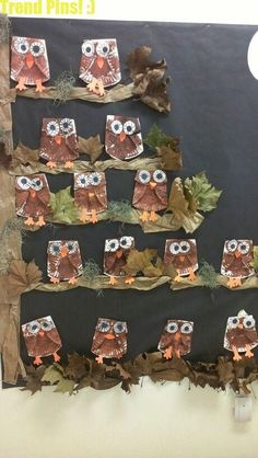 50 Easy Fall crafts ideas to celebrate the autumn season Einfache Herbst Bastelideen Easy Fall Crafts, Fall Crafts For Kids, Kids Crafts, Art For Kids, Spring Crafts, Creative Crafts, Owl Crafts, Paper Plate Crafts, Paper Plates