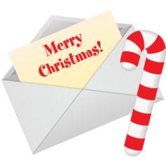 Christmas Letter clip art