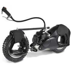 The 20 MPH Motorized Wheelrider (Black). - Hammacher Schlemmer