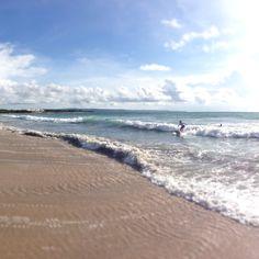 Surfing at Kuta Beach Bali