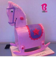 Rocking horse cake!