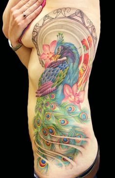 PEACOCK~TATTOO Lianne Moule