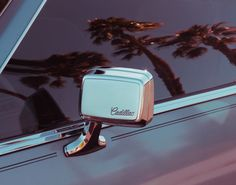 Riding 'round in my Cadillac.   Thinking about the day that I laid eyes on you.