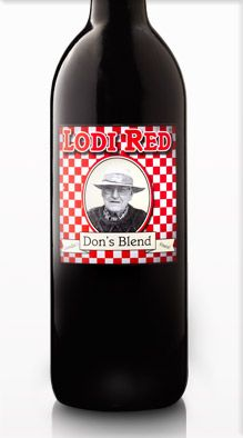 Don's Blend -- Lodi Red from Michael David Vineyards, Lodi, CA  (Don is a friend of my dad's)
