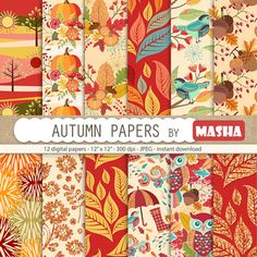 Check out this item in my Etsy shop https://www.etsy.com/listing/451153518/fall-digital-papers-autumn-digital