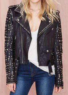 Maison Scotch Rocker Leather Jacket