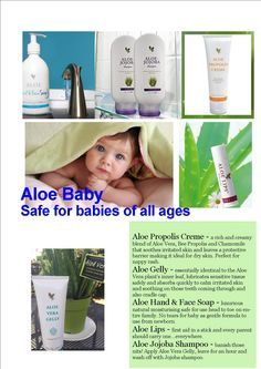 What can Aloe do for your baby? Forever Living Aloe Vera, Forever Aloe, My Forever, Forever Living Business, Bee Propolis, Marketing Opportunities, Forever Living Products, For Your Health, Baby Care
