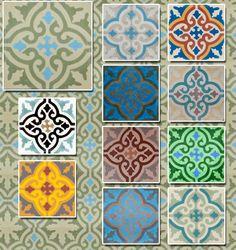 encaustic tile