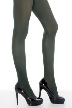 26b82ca4bcf9 Punčochové kalhoty Penti Mikro 40 khaki zelená Podzim a zima nemusí být  vždy jen šedé a