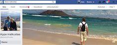 Facebook-sivusto APPA MATKUSTAA on nyt avattu