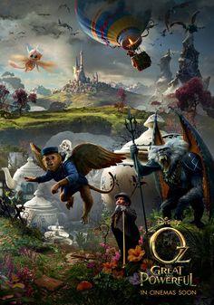 The Great and Powerful Oz / Le Monde Fantastique d'Oz