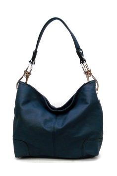 Perfect for fall - Royal Blue Hobo