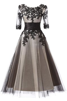 BeryLove Vintage Half Sleeves Lace Appliques Short Mother of the Bride Dress >>> Discover this special product, click the image : mother of the bride dresses