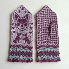 Ravelry: Tiny Dogs mittens pattern by Therese Sharp. 40.00 SEK