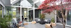 Fascinating Eichler Home Remodel in Burlingame, California