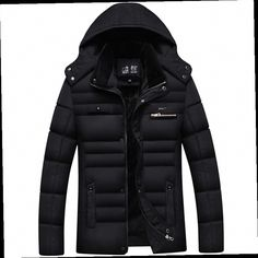 48.99$  Buy now - http://alid3c.worldwells.pw/go.php?t=32753327207 - Free Shipping 2016 Winter Jacket Men Brand Thick Hooded Men's Parka Fur hood Coat High quality Size XXXXL Men Duck Down Jacket