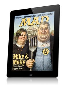 Discover MAD Magazine, now available on your iPad! All of the same humor plus extras in the new digital magazine app. Download the mobile app today! Designed using Mag+.