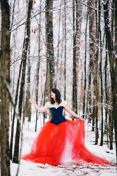 Snow White Fashion Photography, #Disney #Princess #Fairytale #snow Photos and gown by Lauren D. Rogers | www.laurendrogers... Hair/makeup/model: Jessica Morris
