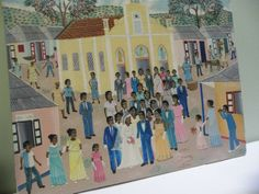 Found on EstateSales.NET: Haitian Painting