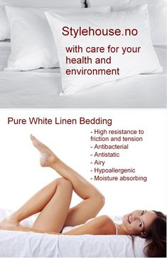 Country Style Bedding, single and double set, made from pure white linen. White Bedding, Linen Bedding, Queen Bedding Sets, For Your Health, Pure White, Country Style, Pure Products, Bedding Collections, Languages