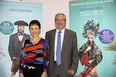 Se calfeutrer quand le froid arrive ? L'aéroport de Toulouse-Blagnac propose mieux : 11 nouvelles destinations pour découvrir l'Europe, cet hiver. Découvrez le programme Automne-Hiver 2016-2017. De g. à dr., Catherine Gay, directrice du Développement...