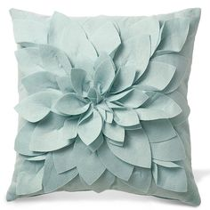 17-inch sq. Pillow- have a pin on one of my boards that shows how to make these.