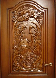 hand carved mahogany door.... | beautiful spaces.... | Pinterest ...