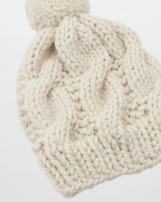eae59dd72 Simple cable knit hat pattern - This pattern is great for knitters who are  just beginning