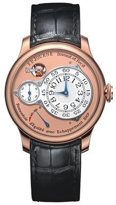 ZEITGEFÜHL Uhrenblog 19.19.2012: Der neue Chronomètre Optimum von F.P.Journe