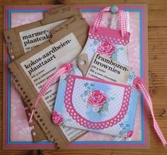Keuken:. #Scrapbooking Or a #Recipe Collector Card and/or Scrapbooking Page!