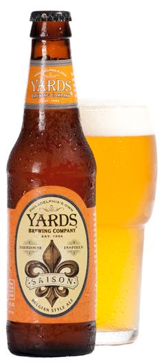 """Saison"" | Yards Brewing Company >> a wonderful summer ale"