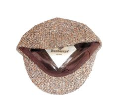 Burberrys' Christys' London Wool Tweed News Boy Cabbie Hat Made in England 7 1/8 #Burberrys #NewsBoyCabbie