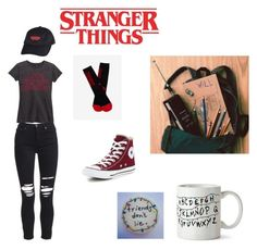 """Stranger things"" by sarah2812 ❤ liked on Polyvore featuring art"